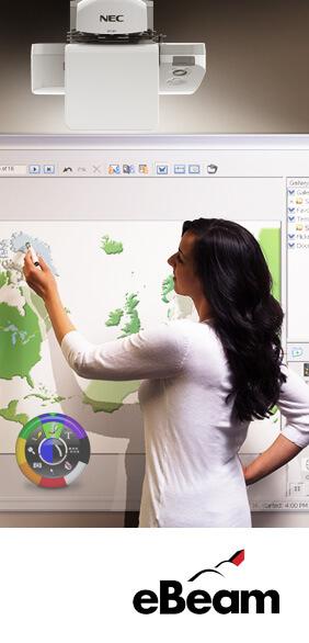 side eBeam2 - Neue interaktive Lösungen von NEC