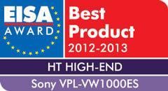 1237487008497 - VPL-VW1000ES: Europäischer High-End HD-Projektor des Jahres 2012-2013
