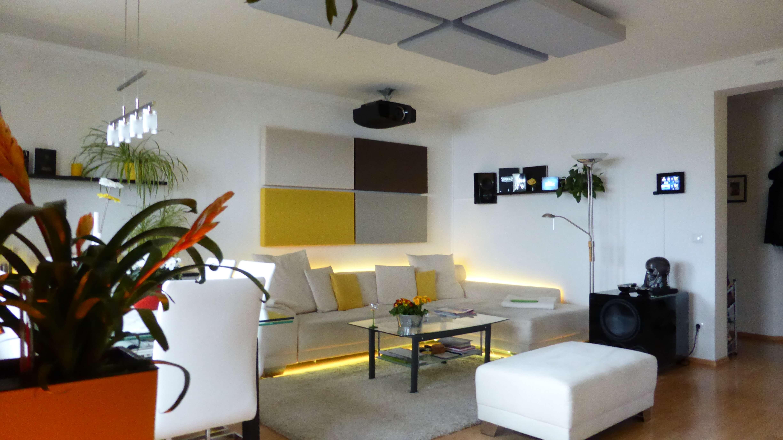 4k wohnzimmerkino mit dem sony vpl vw500es beamer blog - Beamer wohnzimmer ...