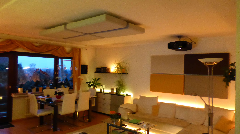 4k wohnzimmerkino mit dem sony vpl vw500es beamer blogbeamer blog. Black Bedroom Furniture Sets. Home Design Ideas