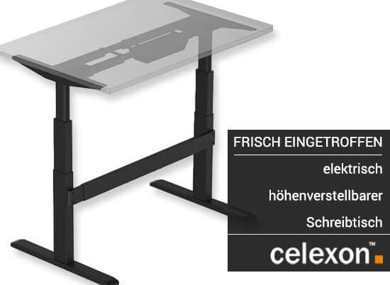 frisch eingetroffen elektrisch h henverstellbarer schreibtisch von celexon beamer discount. Black Bedroom Furniture Sets. Home Design Ideas