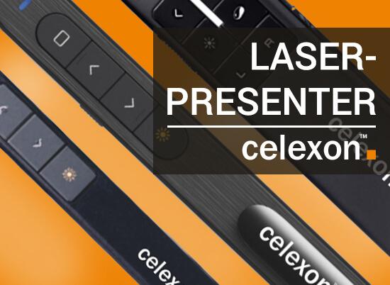 Blog Celexon Presenter Header - celexon Laser-Presenter | 3 Modelle für Sie