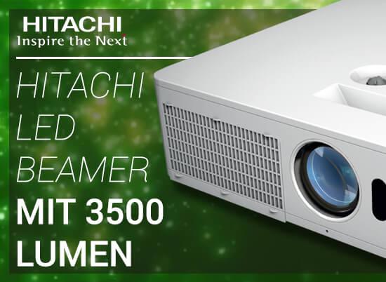 Blog Hitachi Header - Neue Beamerlieblinge von Hitachi | LED-Projektoren mit 3500 Lumen