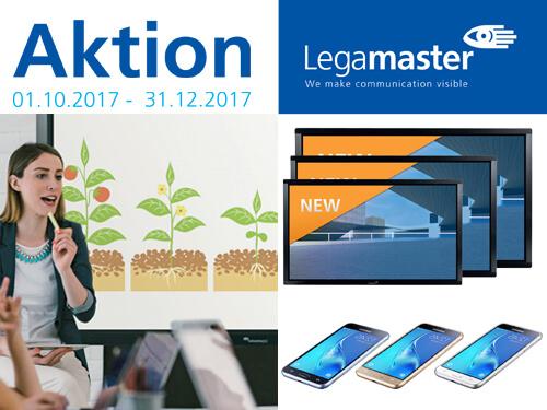 Blog Legamaster Teaser - SAMSUNG Galaxy Smartphone zu jedem E-Screen der ETX-Serie!