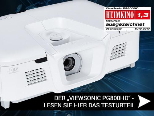 Blog Viewsonic Teaser1 - Der ViewSonic PG800HD im Test - Urteil: Ausgezeichnet!