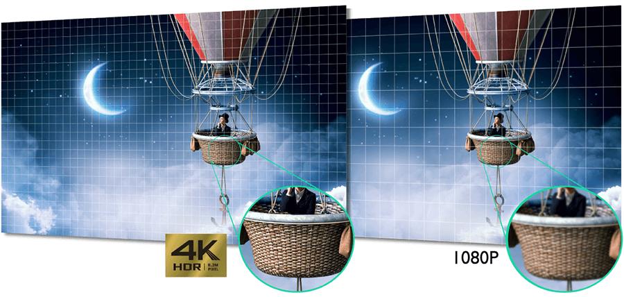 BenQ W1700 Auflösung im Vergleich - BenQ W1700 - 4K Beamer in der Einstiegsklasse angekündigt.