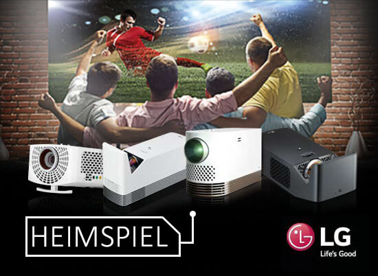 "lg sky aktion klein - ""HEIMSPIEL"" AKTION - LG Projektor inkl. 3 Monate Sky SUPERSPORT TICKET"