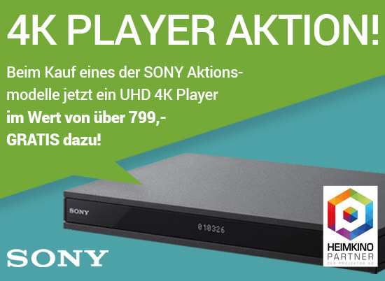 Sony Aktion Vorschauimg Blog - SONY | 4K PLAYER AKTION!