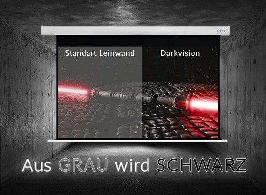 darkvision klein - Neuheit: Die DELUXX Darkvision Kontrast Leinwand