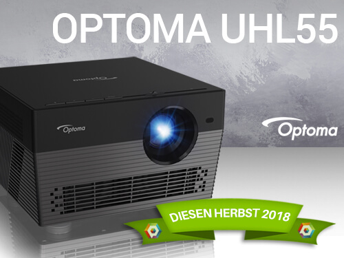 Blog Teaser Optoma UHL55 - OPTOMA UHL55 | UHD HDR LED Beamer im TEST