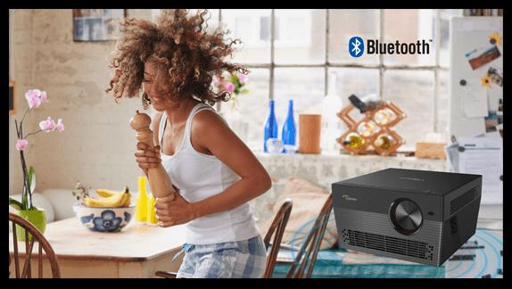 Bluetooth Verbindung Optoma UHL55