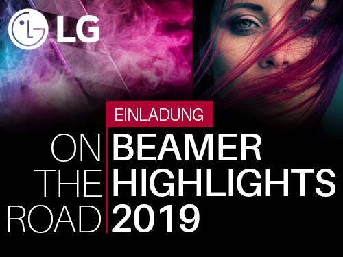 Blog Entry LG Event - LG Live Event 2019 in Köln – Vorstellung der neuen LED- und Laser Beamer